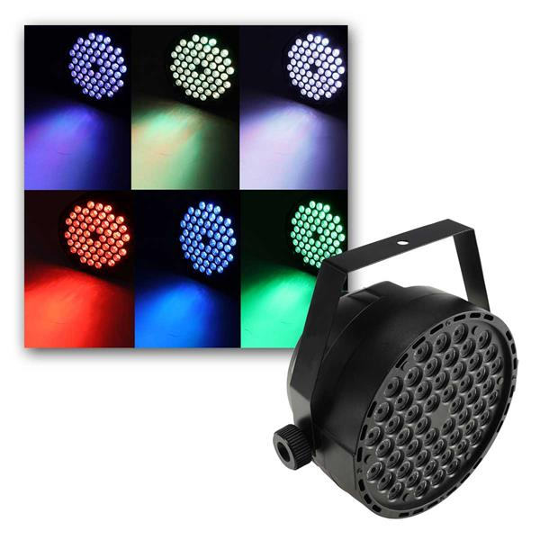 "Discostrahler ""PARTY 54 RGB TCL"" DMX 54x3W LED"