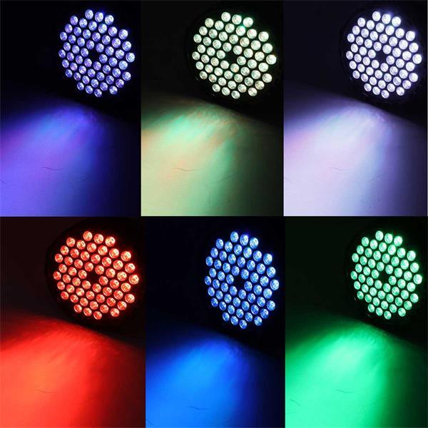 Showeffekte für Partys,Farbwechsel, Dimmer,Strobe-Effekt