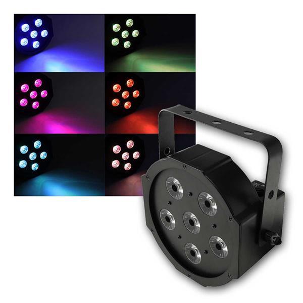 "Discostrahler ""PARTY 6x8 RGB TCL"" DMX 6x 8W LED"