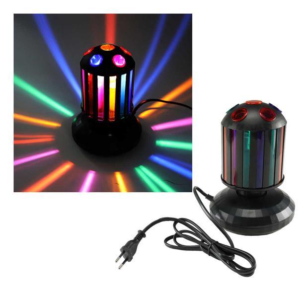 """LED Lichteffekt """"kleine Walze"""" mit E14 Lampe"""