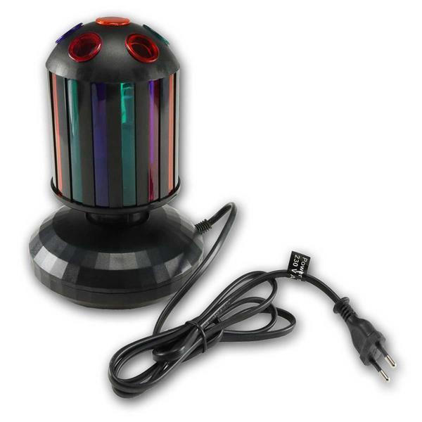 Kleine Walze - LED Lichteffekt, Netzleitung und Eurostecker
