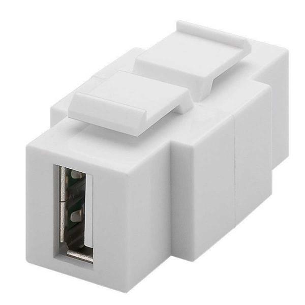 Keystone Modul USB 2.0-Buchse (Typ A/B)