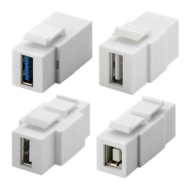 Keystone USB Module mit USB 2.0 oder 3.0 Typ A oder Typ B