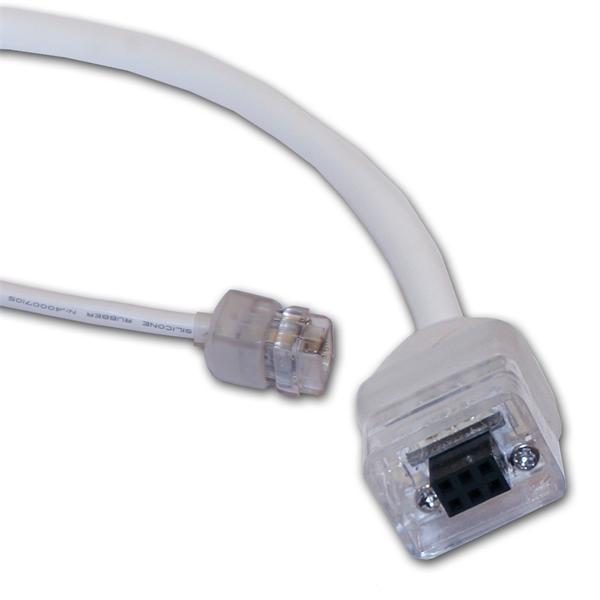 einfache Steckverbindung mit Schutzklasse IP54