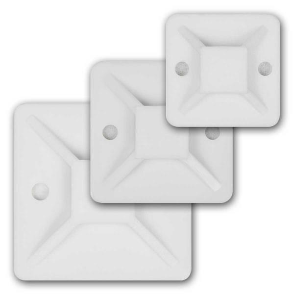 Kabelsockel für Kabelbinder 20/30/40mm, 10/50/100/