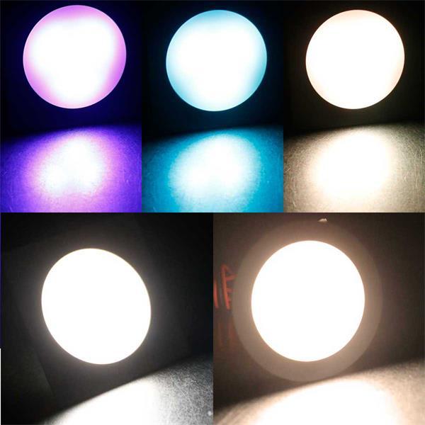 LED-Einbauleuchte Fine in warmweiß, daylight und RGB-Farben