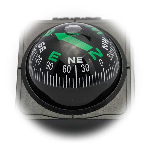 Kompass zum Bestimmen der Himmelsrichtungen
