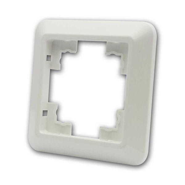 CUP Rahmen, 1-fach, weiß, Einfachrahmen