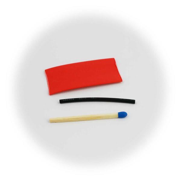 Schrumpfschlauch-Set in verschiedenen Durchmessern