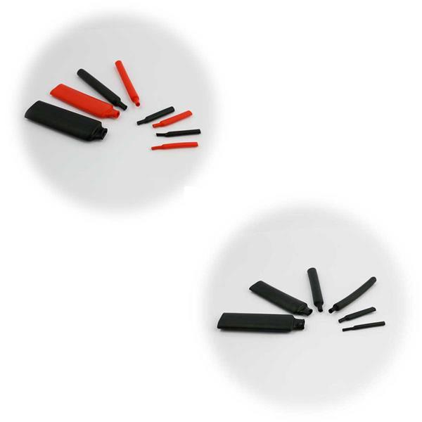 Schrumpfschlauch Sets in Kunststoff-Box