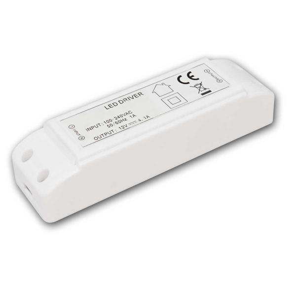 LED Transformator 1-50W, 12V DC, 220-240V