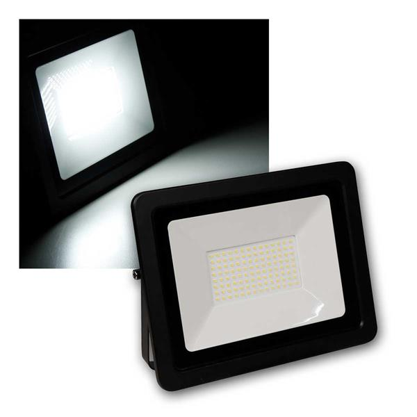 "LED Fluter ""Super-Slim"" 100W 6700lm, nw, IP44"