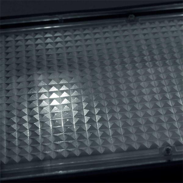 LED Bodeneinbaustrahler im Look eines Pflastersteins