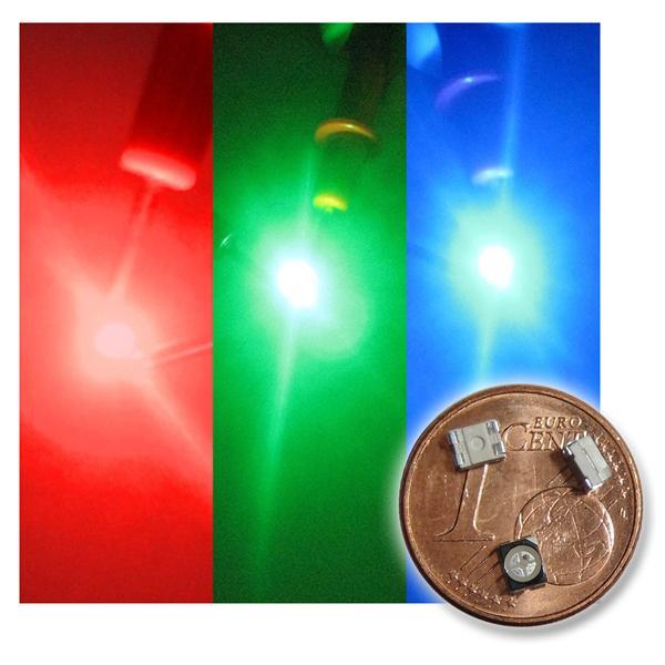 10 x SMD LED PLCC-2 3528 FULLCOLOR RGB 3-Chip