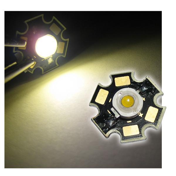 Highpower LED 3W warmweiß auf PCB