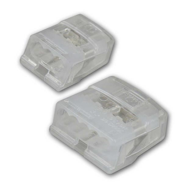 Dosenklemmen mit 3 oder 5 Klemmstellen für 1-2,5mm² Leiter