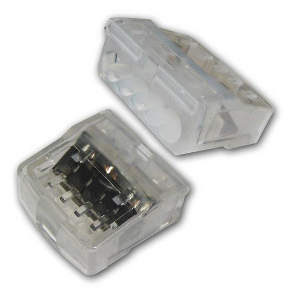 3- oder 5-polige Steckklemmen für  1-2,5mm² Leiter