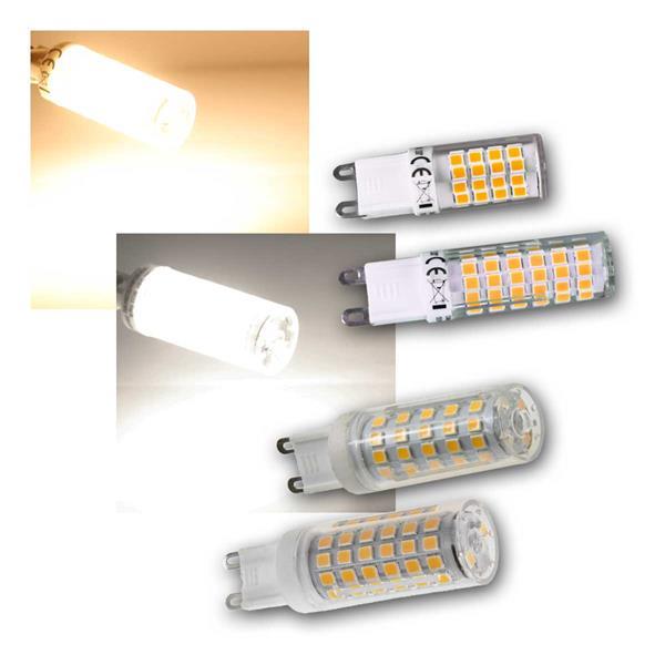 LED Stiftsockel G9 warm/neutral 4/6/8/10W ChiliTec