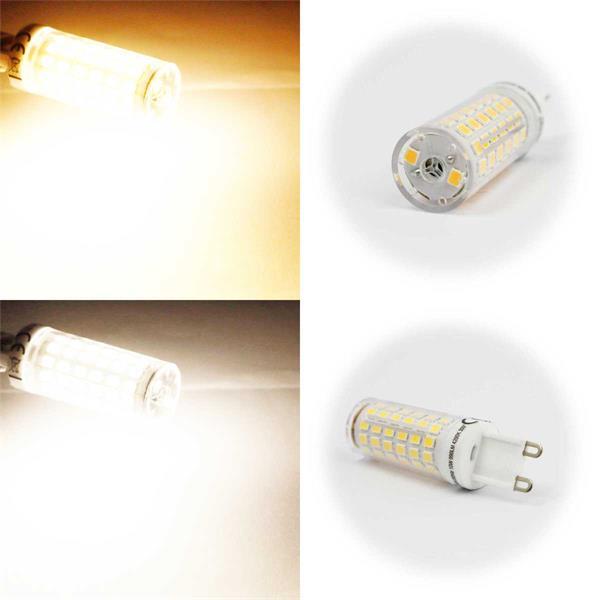 G9 LED Stiftsockel in 2 Leuchtfarben mit 4-10W