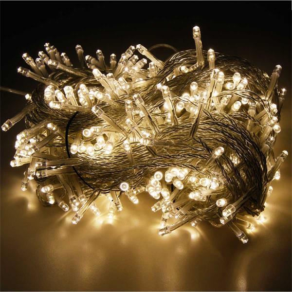 LED Lichterkette, Weihnachtsdeko, Innen-und Außenbereich