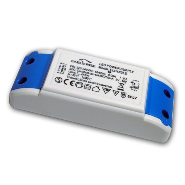 Konstantstromquelle für 3-4x 3W High-Power LED