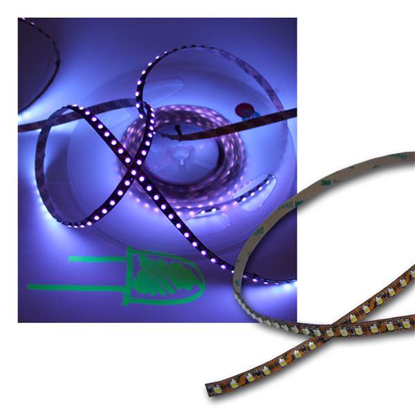 5m Flexibler SMD Streifen ultraviolett UV 600 LEDs