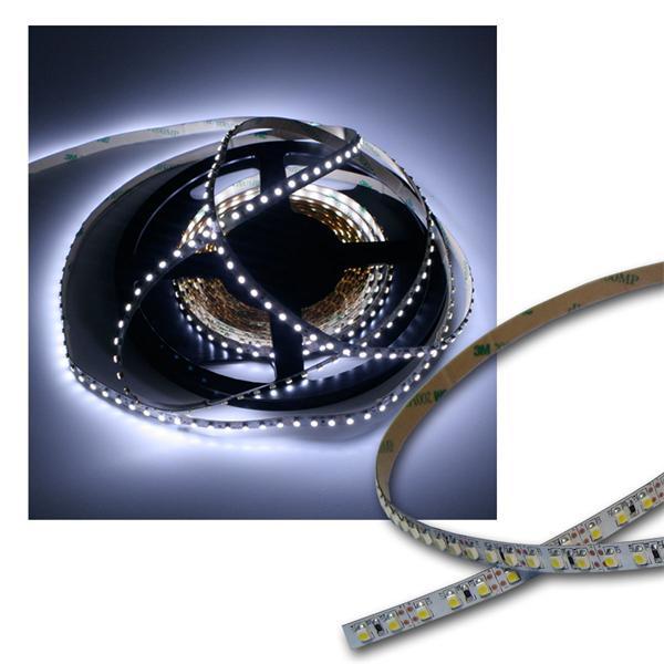 500cm FLEX SMD Streifen 600 LEDs pur-weiß PCB-weiß