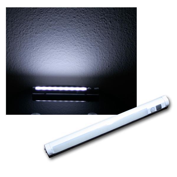 LED-Lichtleiste mit PIR Bewegungsmelder, weiß