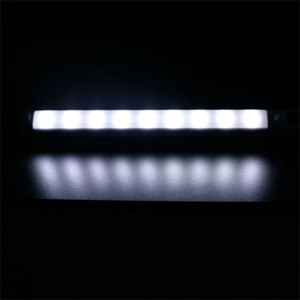 led lichtleiste mit pir bewegungsmelder wei. Black Bedroom Furniture Sets. Home Design Ideas