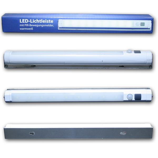 LED Lichtleiste mit stabilen und schwenkbaren Rahmen zur Befestigung