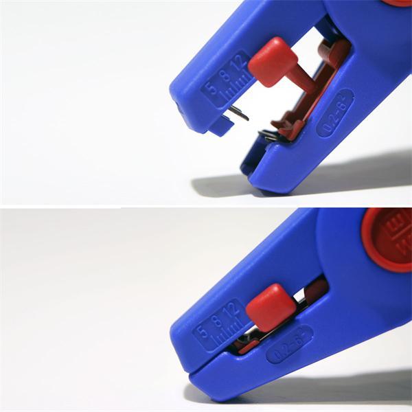 Entmantler aus Kunststoff mit rutschfesten ergonomischen Griff
