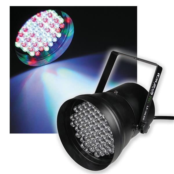 """LED-Discostrahler """"PAR-36 DMX"""" RGB LEDs"""
