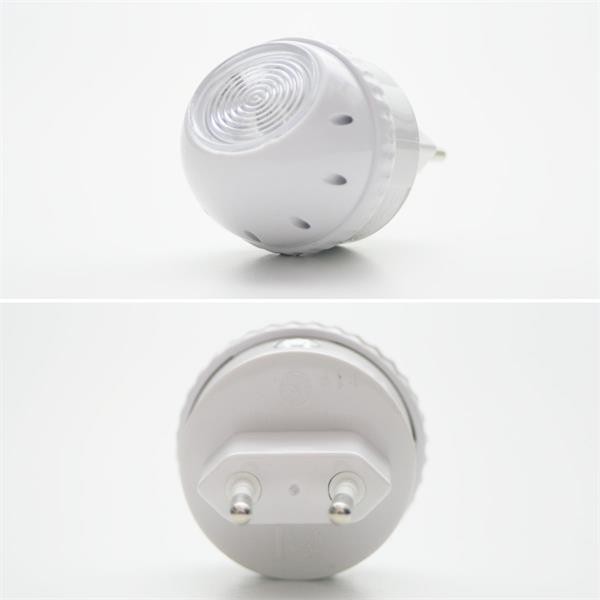 LED Notlicht mit integrierten Dämmerungssensor und 2 LEDs