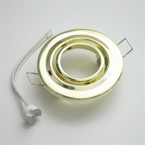 Einbaurahmen für MR16 Leuchtmittel mit GX 5,3 Sockel