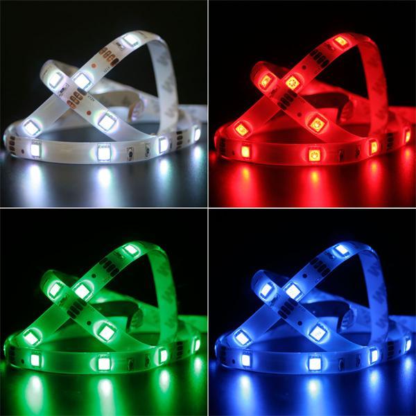 LED Streifen mit Farbspielen für modische Designbeleuchtung