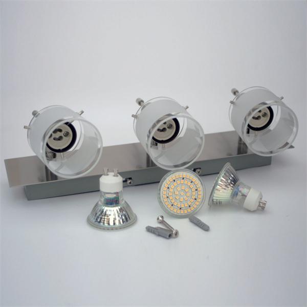 LED Strahler im modernen Design und GU10 LED Leuchtmittel