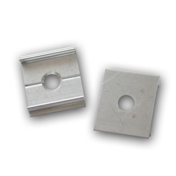 1 Paar Halteclips für Aluminium Profil
