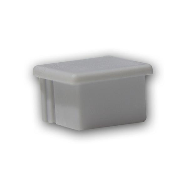 Endkappe für Aluminium-Profil POLARUS, silber-grau