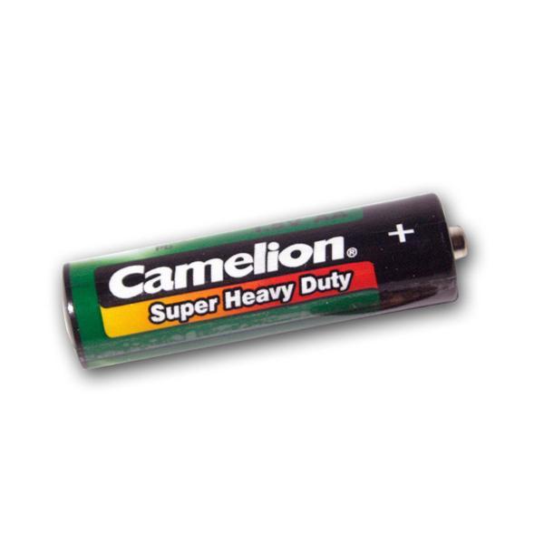 4er Pack Mignon AA Batterie Camelion grün