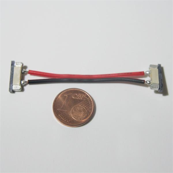 Verbindungskabel für SMD LED Streifen mit Kunststoffbacken