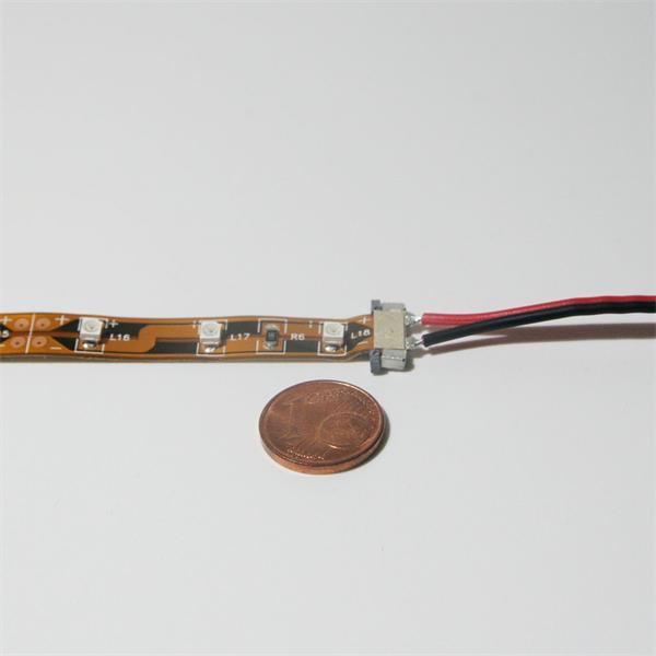 einfache, lötfreie und werkzeugfreie Verbindung zweier LED Stips