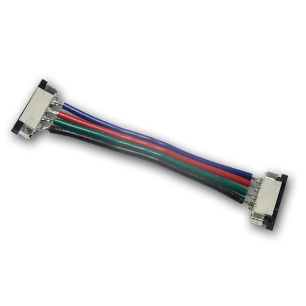 Verbinder für 4-poligen 10mm SMD Strip 5cm Kabel