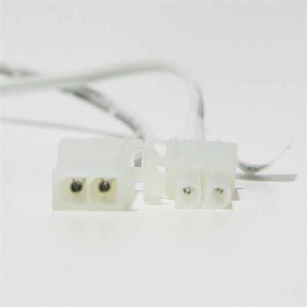 2-polige Steckverbinder mit Arretierung für festen Halt