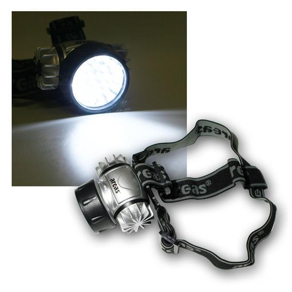 LED Stirnlampe / Helmleuchte mit 28 LEDs Acras
