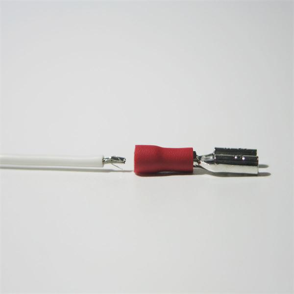 Flachsteckhülse für Kabelnennquerschnitte von 0,5 bis 1,5mm²