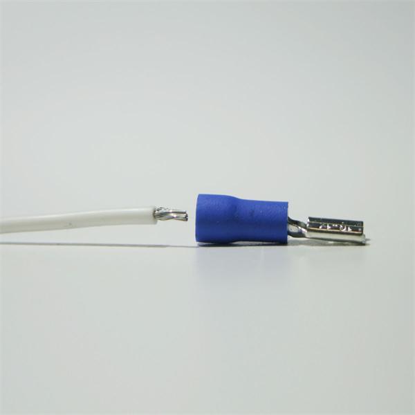 Flachsteckhülse für Kabelnennquerschnitte von 1,5-2,5mm²