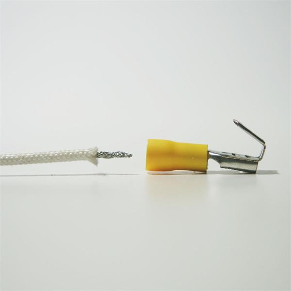 Flachsteckhülse für Kabelnennquerschnitte von 4,0-6,0mm²
