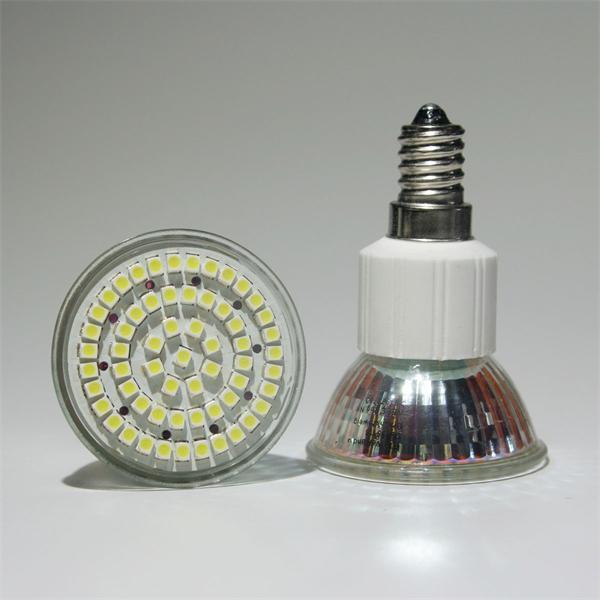 LED Lampe Maß 50x75mm bündig abschließende Front ohne Glas-Cover