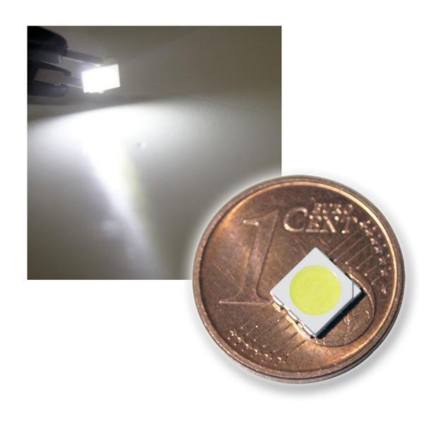 10 SMD LED 5050 kaltweiß 3-Chip Highpower