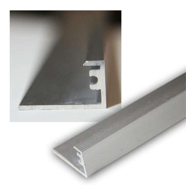 1m Aluminium-Wandprofil für LED-Stripes, eloxiert